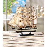 Passat Ship Model Nautical Decor