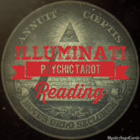 Illuminati Psychic Tarot Reading, Receive Guidance to Questions, Esoteric Knowledge, Accurate and in-depth reading, email or video reading