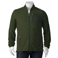 Croft & Barrow Classic-Fit Arctic Fleece Full-Zip Jacket
