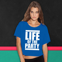 LIFE OF THE PARTY 9 boxy tee