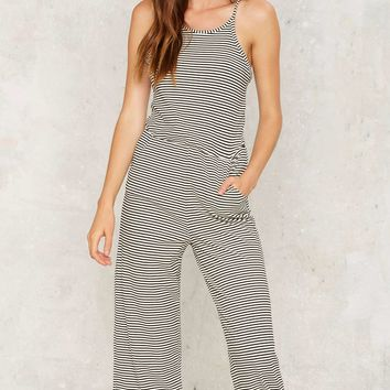 Come to Your Senses Lounge Jumpsuit