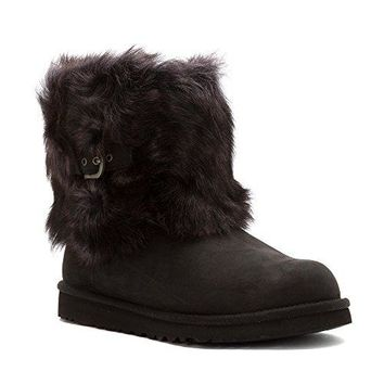 UGG Kids Ellee Leather Boot UGGboots with heel