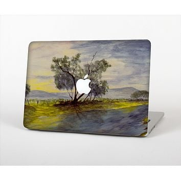 The Watercolor River Scenery Skin Set for the Apple MacBook Air 11""