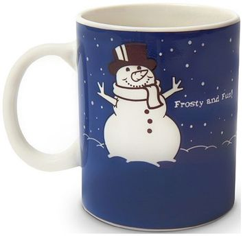 Color Changing Snowman Mug