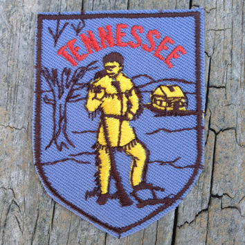 Tennessee Vintage Travel Patch by Voyager