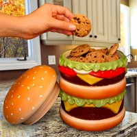 The Cheeseburger Cookie Jar