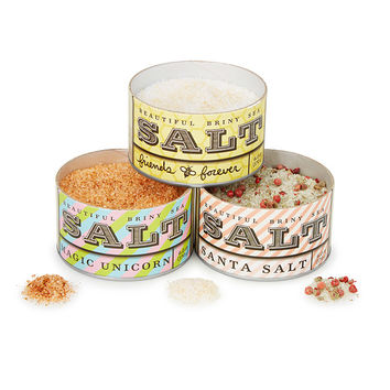 Unicorn & Friends Sea Salt - Set of 3 | Organic Salt Seasonings