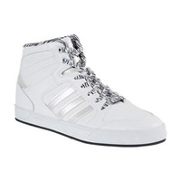 Adidas BBNEO Raleigh Mid-Tops - White