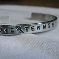 Peace, Love, Tennis,  A great piece for the tennis lover.