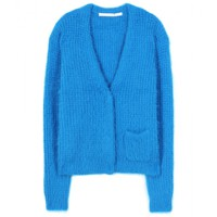 dorothee schumacher - temptation angora wool-blend cardigan