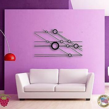 Wall Stickers Vinyl  Abstract Modern Hollywood Style Cool Decor  Unique Gift z1536
