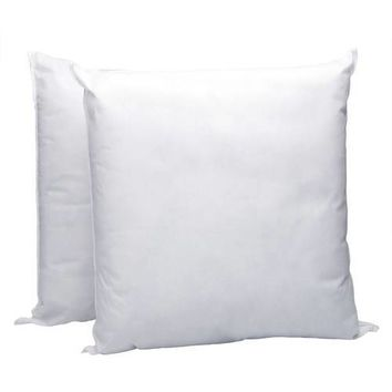 """Pellon Homegoods Decorative Pillow Insert, 16"""" x 16"""", 2-Pack"" White 16"" x 16"""
