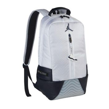 Unisex Fashion Rucksack Laptop Travel Bag College Bookbag Nike Jordan