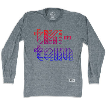 Barcelona Tiki Taka Soccer Long Sleeve T-Shirt