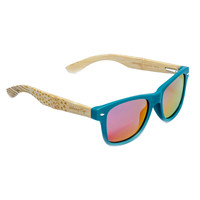 RetroFLY Stars and Stripes Bamboo Sunglasses