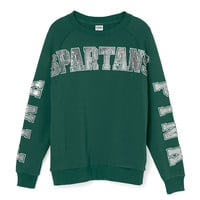 Michigan State University Limited Edition Gym Crew - PINK - Victoria's Secret
