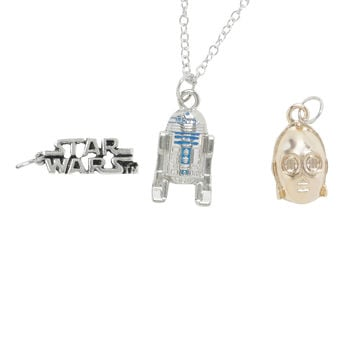 Star Wars Droid Interchangeable Charm Necklace