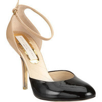 Stella McCartney Two Piece Pump - Black/Nude size 6 - Polyvore