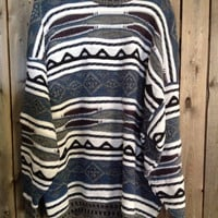 """Vintage """"ugly""""  fall and winter sweater size XXL"""