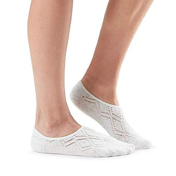 Tavi Noir - Casual Grace No Show Sock | Snow Diamond