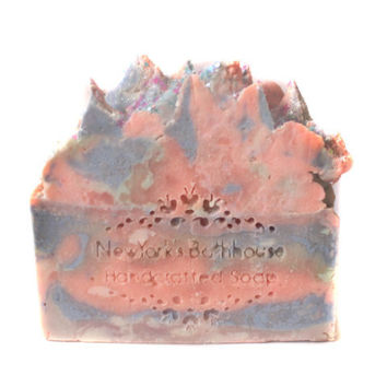 Pastel Moon Flower Shea Butter Soap Bar