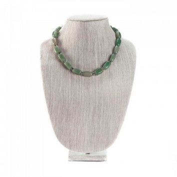 Jade Bead Necklace (pack of 1 EA)