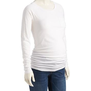 Old Navy Maternity Scooped Neck Tee