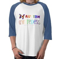 Autism Awareness T Shirt from Zazzle.com
