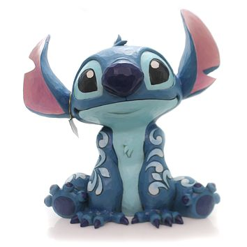 Jim Shore Stitch Statue Figurine