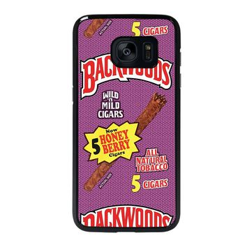 ONLY BACKWOODS CIGARS Samsung Galaxy S7 Edge Case