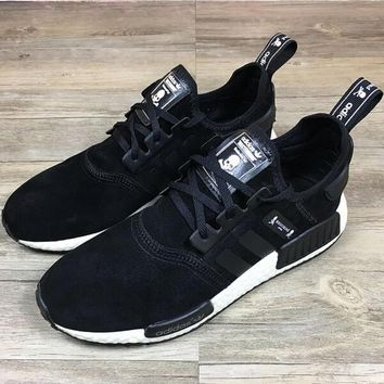 """NIKE"" Skull And Crossbones NMD Fashion Trending Leisure Running Sports Shoes Black"