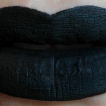Void - Vegan Opaque Black Liquid Lipstick