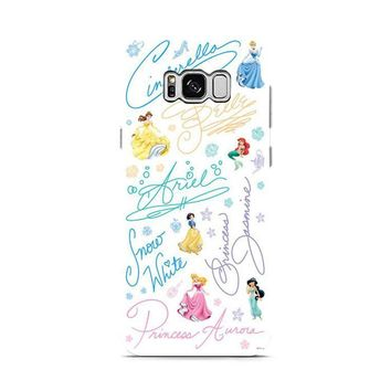 Disney Princess Sign Samsung Galaxy S8 | Galaxy S8 Plus case