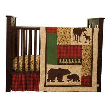 Trend Lab Northwoods 5-piece Crib Bedding Set                                                                                                                                                                                                        - Northwoo