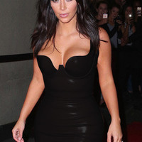 kim kardashian nude/pink/blue/black/yellow sexy deep V-neck solid bandage dress ladies party sleeveless straps bandagem dresses