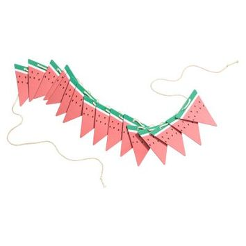 Cardboard pennants - Light red/Watermelon - Home All | H&M GB