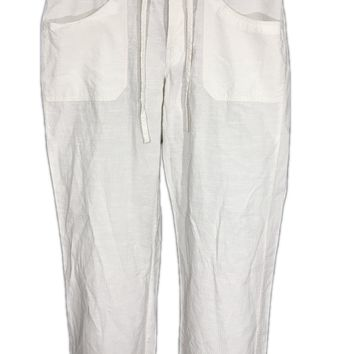 Patagonia Pants Organic Cotton Lyocell Drawstring Tie Lightweight Womens 10 - Preowned