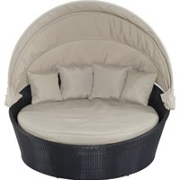 Sofa Negin  Bed, Taupe, Outdoor Daybeds