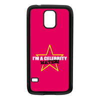 Celebrity Hater Black Silicon Rubber Case for Galaxy S5 by Chargrilled