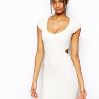 ASOS Rib Cut Out Back Body