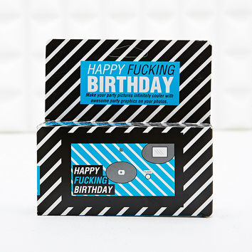 Happy Birthday Disposable Camera - Urban Outfitters