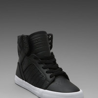 Supra Skytop Sneaker in Black from REVOLVEclothing.com