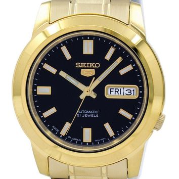 Seiko 5 Automatic Japan Made SNKK22 SNKK22J1 SNKK22J Men's Watch