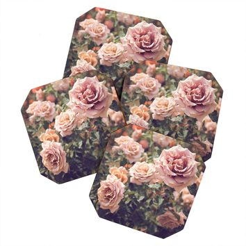 Bree Madden Rose Coaster Set