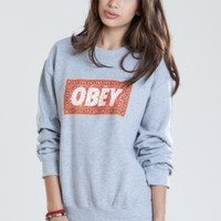 OBEY CLOTHING -  SWEATSHIRTS - WOMENS