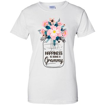 Happiness Is Being Grammy Life Flower Grammy Gifts
