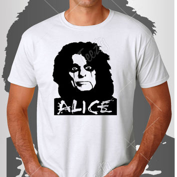 Alice Cooper T-shirt T-shirts Hoodie Hoodies Tank Top Tank Tops Sweatshirt Sweatshirts Rihanna Alice Cooper Rock Singer Song Writer Music