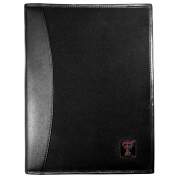 Texas Tech Raiders Leather and Canvas Padfolio CPAD30