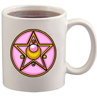 Sailor Moon Brooch Compact Mug/Cup