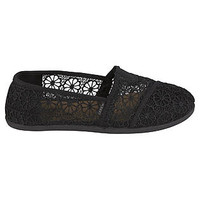 Bongo Women's Casual Lace Canvas Eastern - Black